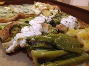 Ricotta pizza binci pizzarium rome where to eat in rome in august
