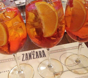 Zanzara Rome Vatican Spritz places to eat near the vatican