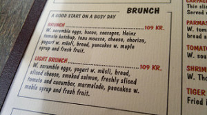 English menu only how to avoid tourist traps