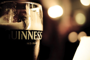 Thanksgiving Day 2015 in Rome Irish-pub beer guinnes