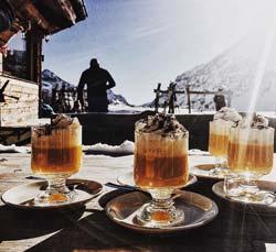 bombardino italy traditional drink
