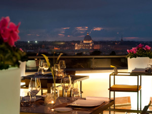 Rome's Top 5 Rooftop Bars - SofitelVillaBorghese - The Roman Guy
