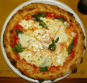Sorbillo pizza-Traditional foods of Italy
