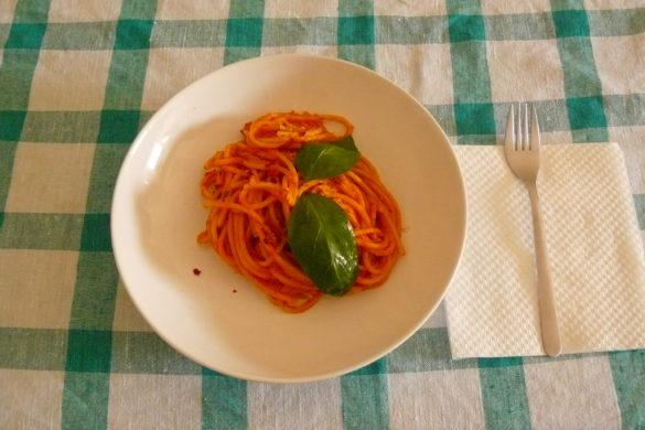 scarpariello pasta recipe Neapolitan spaghetti