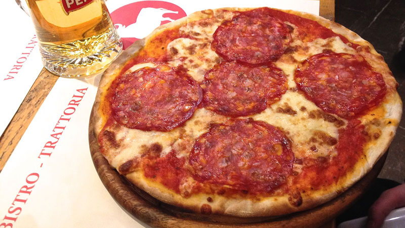 pizza diavola and beer where to eat in rome best places