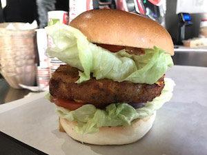 vegetarian burger rome tommis iceland