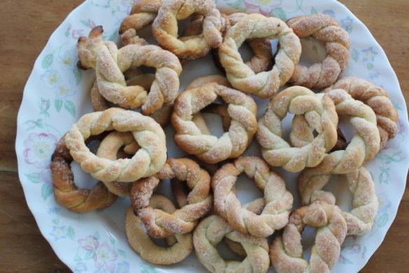 wine cookies recipe the roman foodie