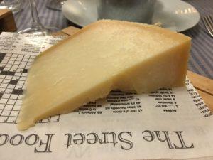 Italian cheeses Parmegiano