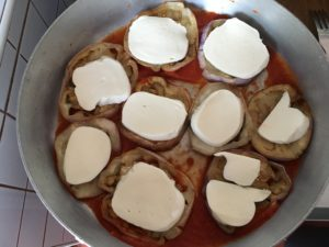 Summer italian recipes parmigiana di melanzane