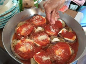 Summer italian recipes parmigiano