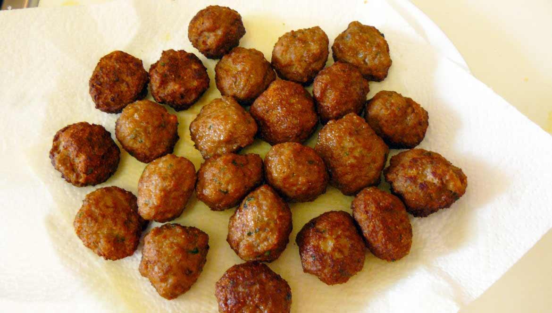 TRF Polpette di Carne Fritte Meatballs