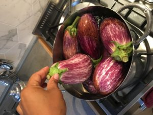 Stuffed Eggplant Recipe - Boil eggplant