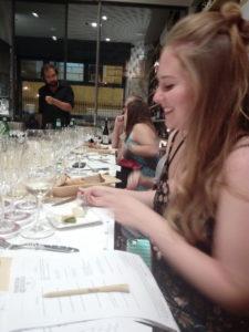 Wine tasting in Rome - Hannah