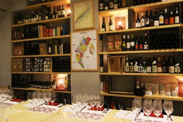 Rimessa Roscioli italian wine tasting cellar